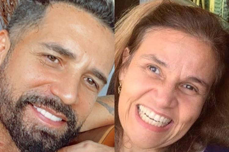 """Claudia Rodrigues recebe visita de Latino no hospital: """"Encontro emocionante"""""""
