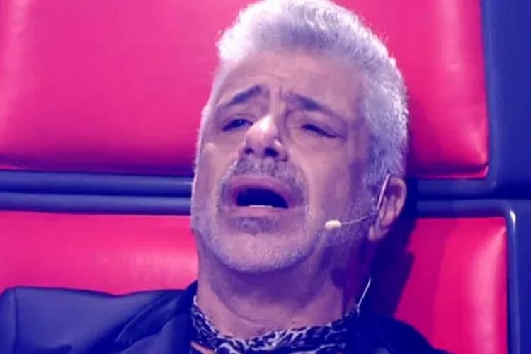 Lulu Santos no 'The Voice' - Reprodução/Globo