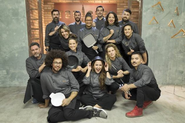 Participantes do Top Chef (Antonio Chahestian/Record TV)
