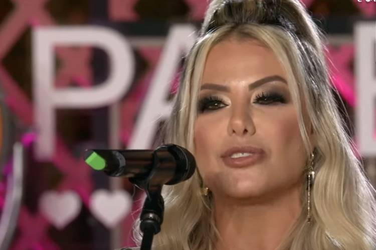 Poliana Rocha, esposa do sertanejo Leonardo - Reprodução/YouTube