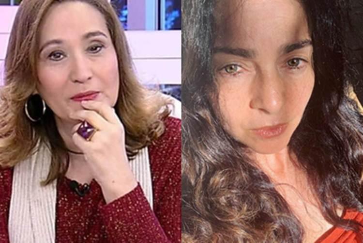 Depois de polêmica com cães, Sônia Abrão alfineta Claudia Ohana