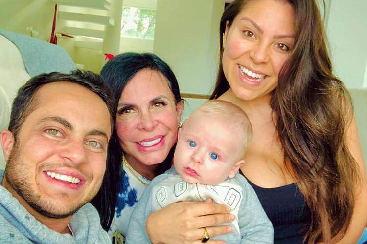 Thammy, Gretchen, Andressa e Bento