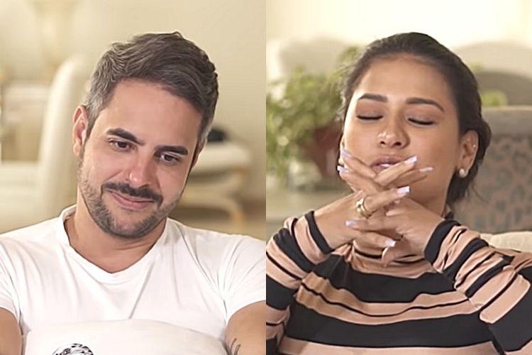 A cantora sertaneja Simone e o maridão Kaká Diniz - Reprodução: YouTube (Montagem: Instagram)