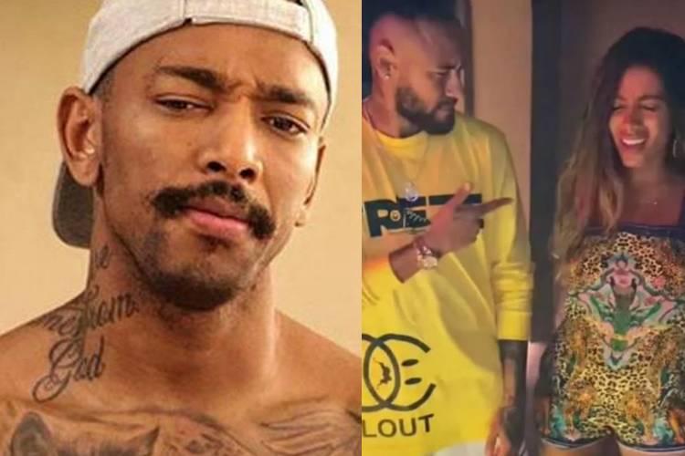 Nego do Borel faz cobrança a Anitta após passeio com Neymar em Ibiza