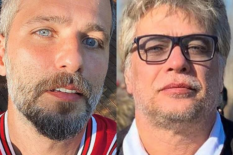 """Bruno Gagliasso parabeniza Fábio Assunção por 49 anos de vida: """"Homem admirável"""""""