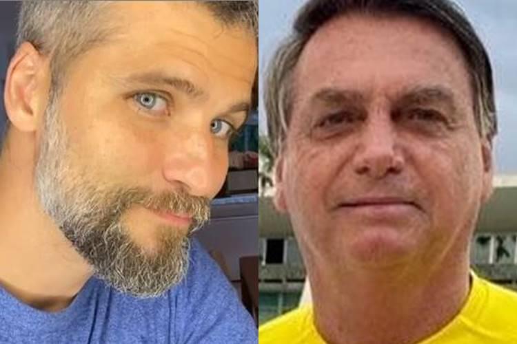 Bruno Gagliasso cobra Jair Bolsonaro após presidente desrespeitar jornalista