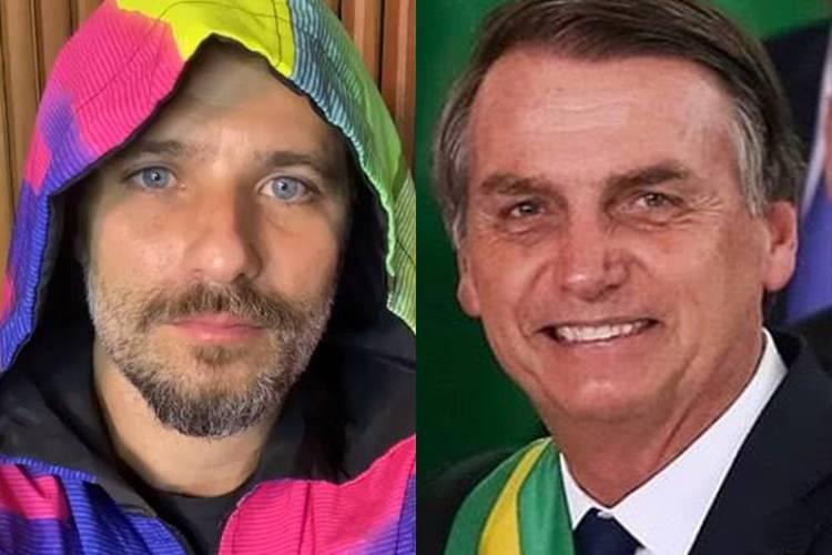 Bruno Gagliasso se revolta com vídeo em que Bolsonaro faz comentário sobre a vida sexual