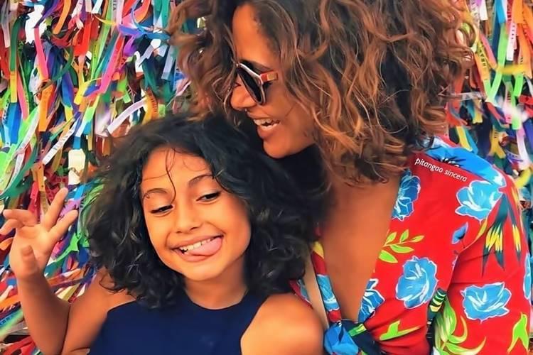 """Camila Pitanga anuncia que ela e filha estão curadas da malária: """"Felizes"""""""
