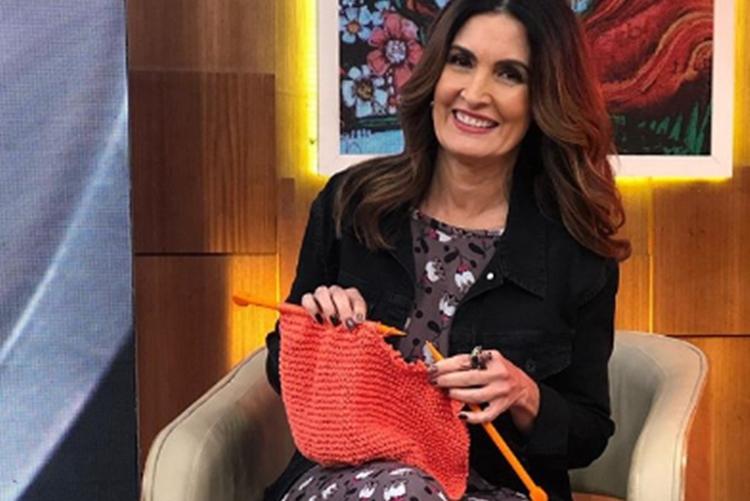 Fátima Bernardes revela como lida com trabalhos manuais