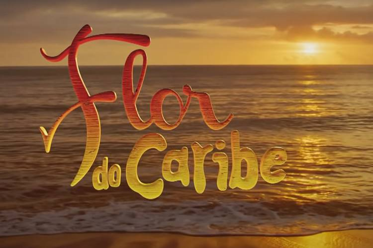 Flor do Caribe - Logo/TV Globo