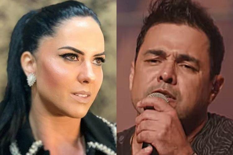 Graciele Lacerda e Zezé di Camargo - Reprodução: Instagram e Youtube (Montagem: Área VIP)