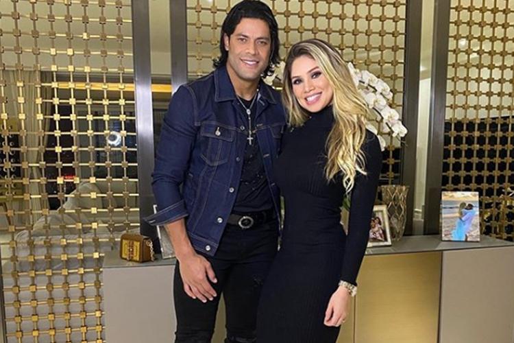 """Hulk Paraíba se declara a esposa: """"O que Deus uniu o homem não separa"""""""