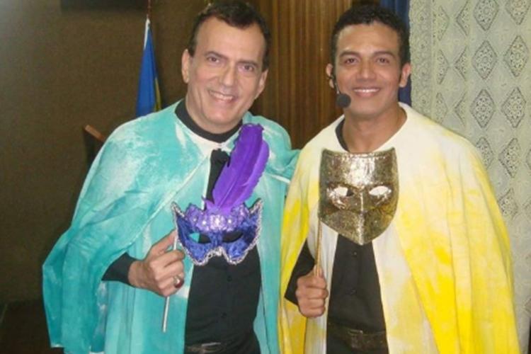 Lino Correa e Deo Garcez foto reprodução Facebook