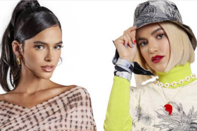 Bruna Marquezine e Manu Gavassi serão apresentadoras do MTV MIAW 2020