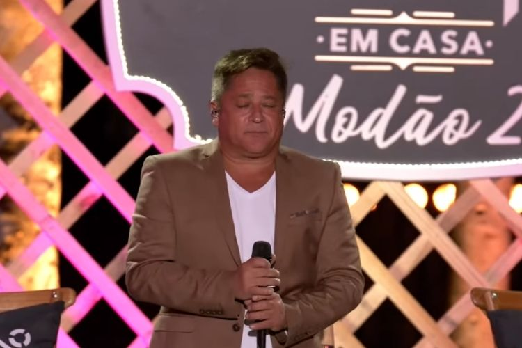 O cantor sertanejo Leonardo - Reprodução; YouTube (Captura: Área VIP)
