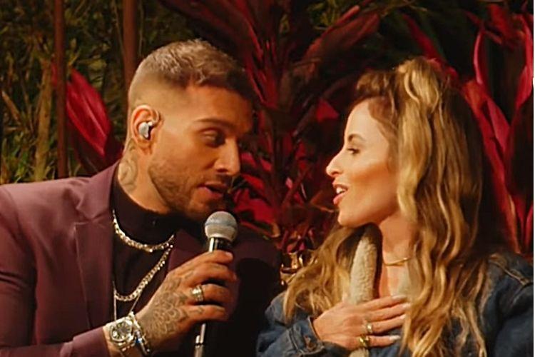 O cantor sertanejo Lucas Lucco e a esposa Lorena Carvalho - Reprodução: YouTube (Montagem: Área VIP)