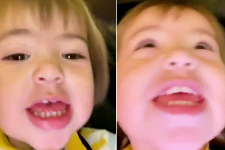 Zoe brinca com o papai Duda Nagle e encanta a web com tanta fofura