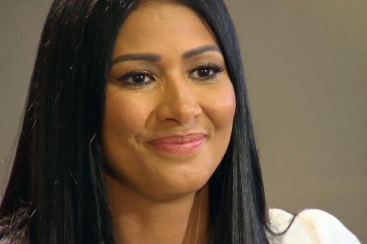 A cantora sertaneja Simaria - Reprodução: TV Globo