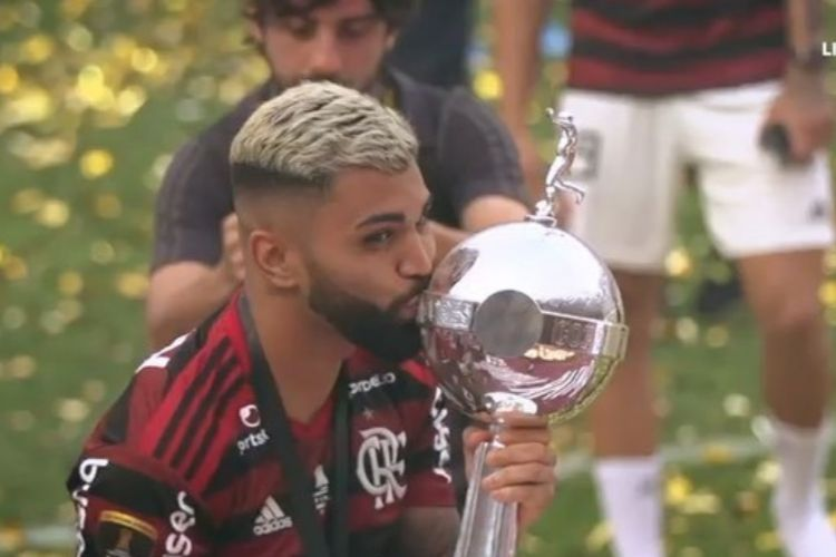 Gabigol e a Libertadores - Reprodução: Instagram