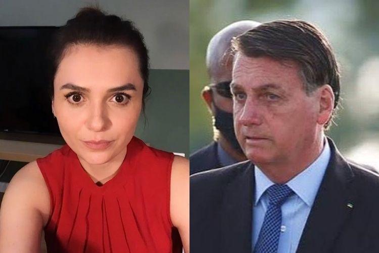 """Monica Iozzi detona Jair Bolsonaro: """"Todos os discursos de ódio em uma única pessoa"""""""