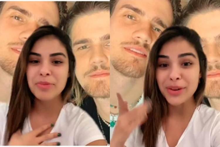 Munik Nunes fala sobre gêmeo do namorado e manda recado para seguidores