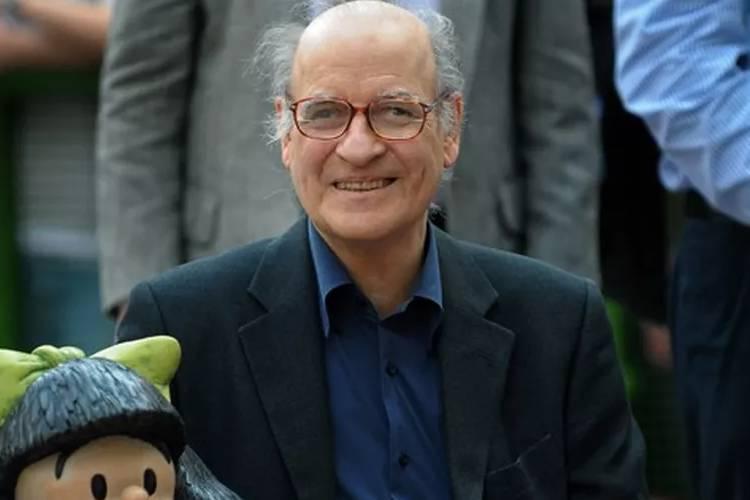 Morre famoso cartunista Quino, criador de Mafalda, aos 88 anos