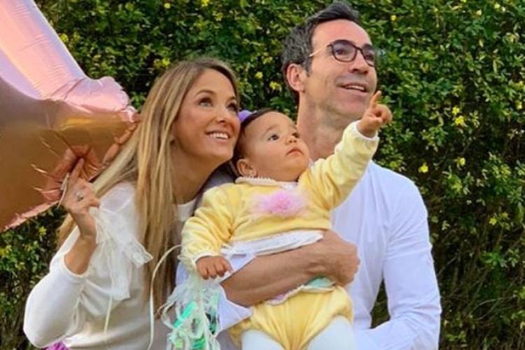 Cesar Tralli compartilha clique em família e encanta a web