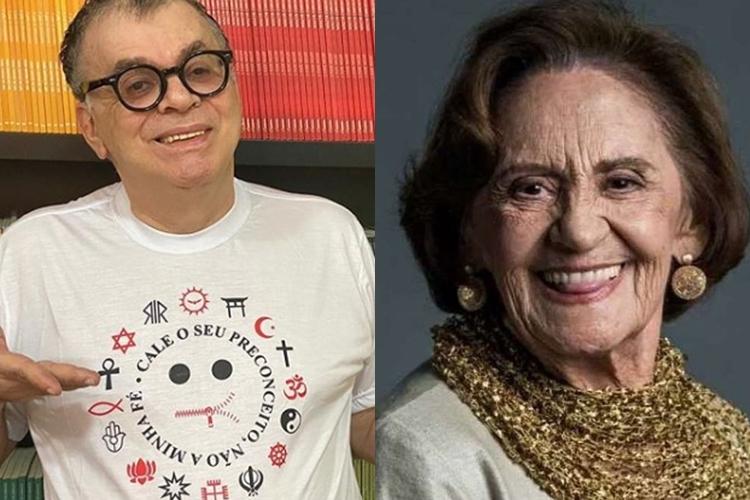 Walcyr Carrasco presta homenagem a Laura Cardoso, que completa 93 anos