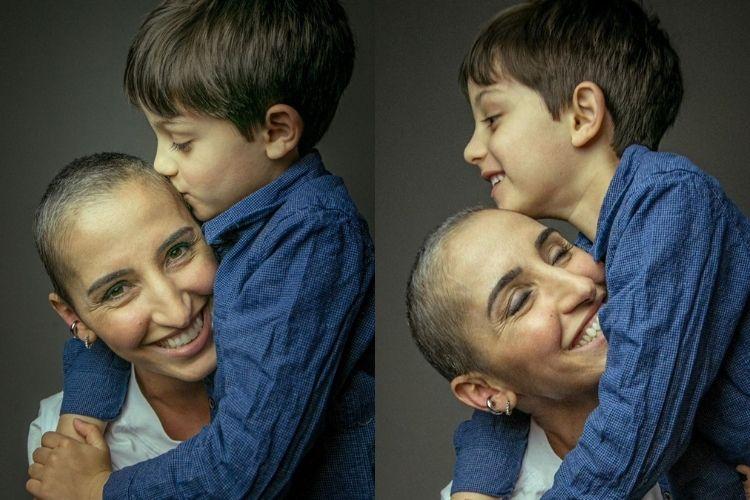 Lutando contra câncer, apresentadora da Globo comenta como o filho reage a sua doença