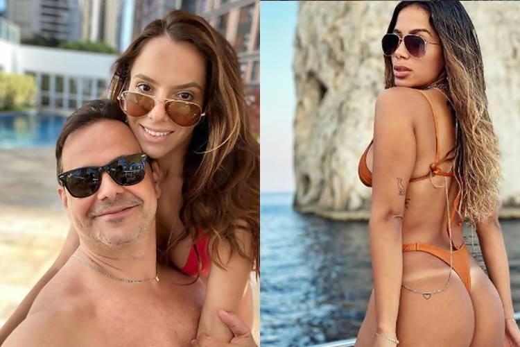 """Humorista Carioca posta foto com esposa e internautas se assustam """"a cara da Anitta"""""""