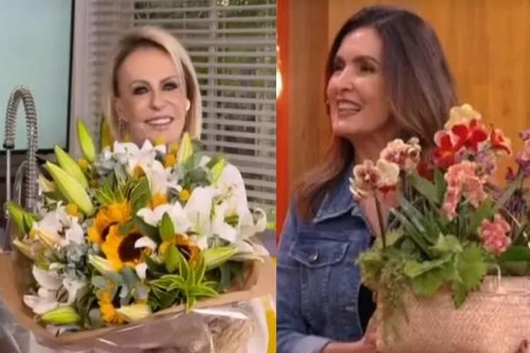 Fátima Bernardes faz revelação durante despedida de Ana Maria Braga do 'Encontro'