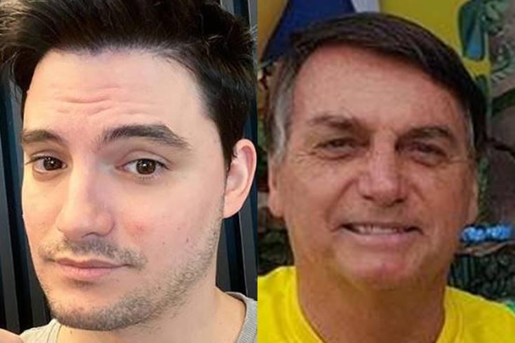 Após declaração feita por Bolsonaro, Felipe Neto chama o presidente de burro