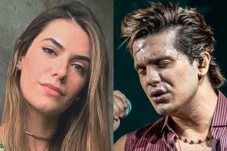 Jade Magalhães e Luan Santana - Reprodução: Instagram (Montagem: Área VIP)
