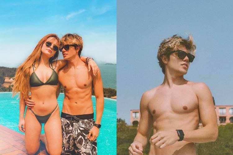Larissa Manoela e Léo Cidade deixam de se seguir em rede social - Foto: Reprodução/Instagram@larissamanoela e @leocidade, montagem Área VIP