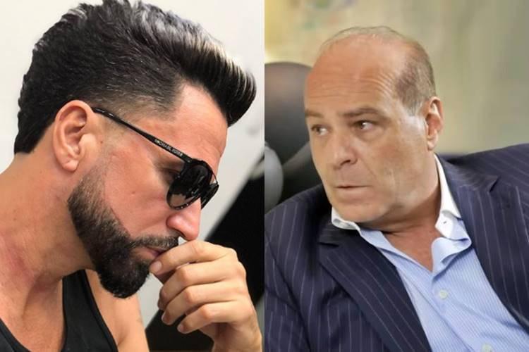 """Latino e Marcelo de Carvalho discutem na Internet: """"Devedor de mulheres"""" - Foto: Reprodução @latino/ Youtube/Montagem área VIP"""