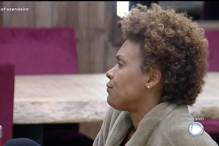 A Fazenda 12: Lidi Lisboa não gosta de resultado da Prova do Fazendeiro ''preguiça'' - Foto: Reprodução/RecordTV