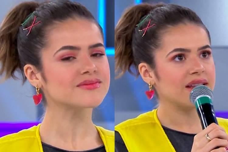 Ao vivo, Maisa Silva revela verdadeiro motivo de saída do SBT