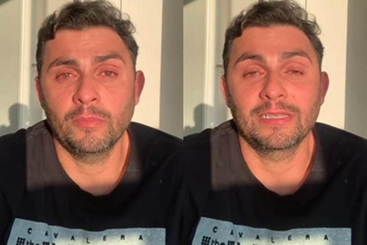 Emocionado, Mano Walter chora grande perda com vídeo em rede social