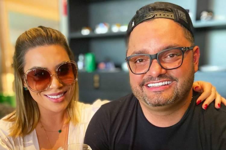 Naiara Azevedo celebra 4 anos de casamento com empresário e presta homenagem emocionante