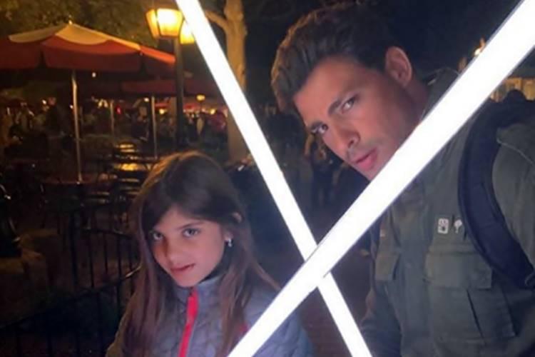 "Cauã Reymond relembra momento 'Star Wars' com filha: ""a gente virou jedi"""