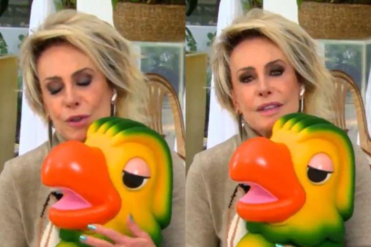 Ana Maria Braga e Louro José - Reprodução: TV Globo