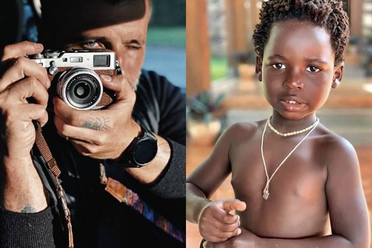 """Após filha mais velha sair em capa de revista, Bruno Gagliasso posta fotos de Bless: """"Eu também sou modelo"""""""