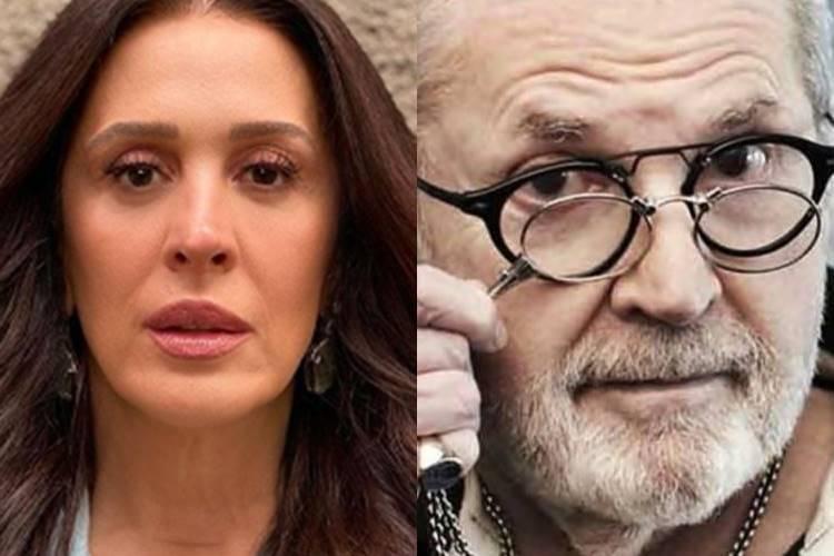 """Claudia Raia faz grandes revelações e diz que já levou fora de Jô Soares: """"Ainda estava apaixonada"""""""