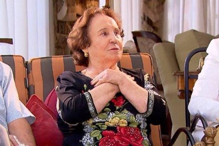 Dona Maria do Céu - Mãe de Gugu (Divulgação Record TV)