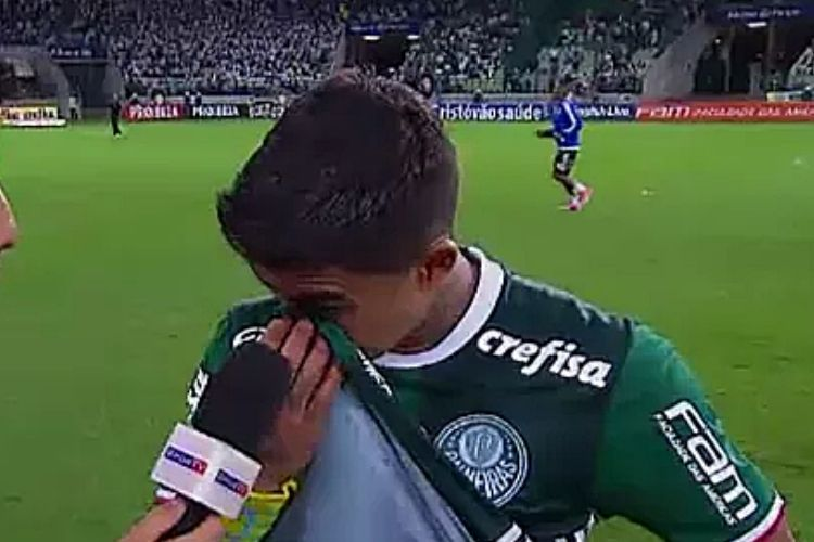 Dudu, ex-jogador do Palmeiras - Reprodução: SporTV