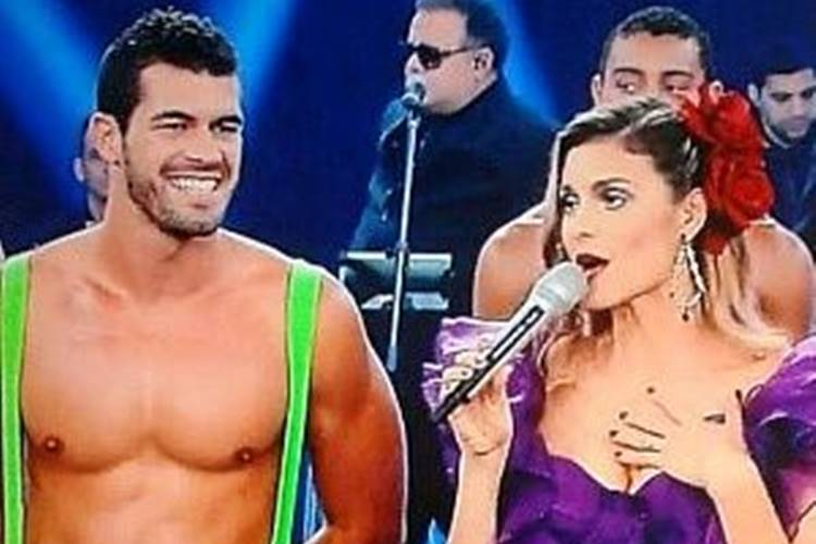 """Fernanda Lima se pronuncia sobre sobre Bruno Borat ter sido baleado: ''Situação absurda!"""" - Foto: Reprodução/Rede Globo"""