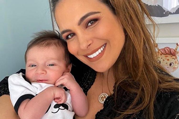 Kamilla Salgado e filho Bento foto reprodução Instagram
