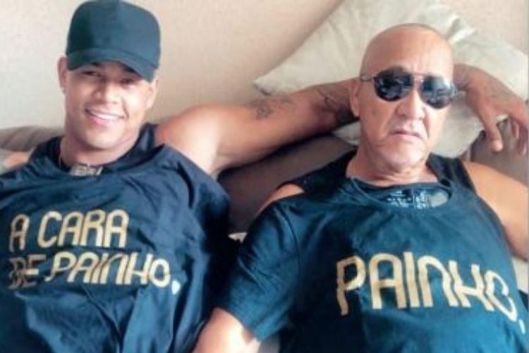 Leo Santana e seu pai - Reprodução: Instagram