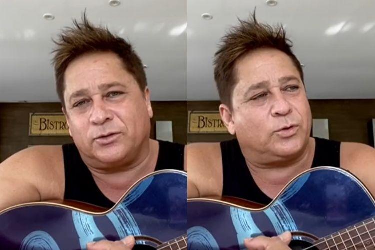 O cantor sertanejo Leonardo - Reprodução: TV Globo
