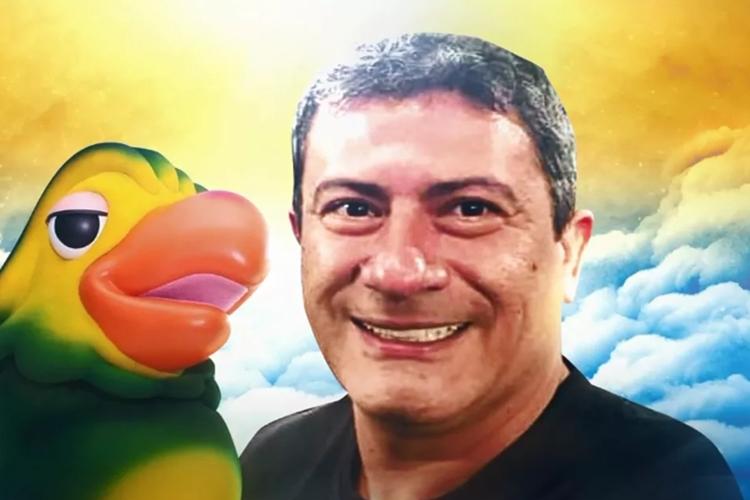 Louro José e ator Tom Veiga foto reprodução TV Globo